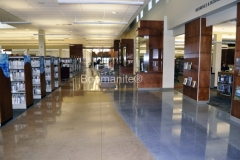 Loveland Library in Loveland, CO. Bomanite Custom Polished Concrete with Bomanite Modena