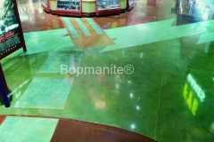 Bomanite Toppings Systems using Patene Artectura at Meadowview. at a Shopping Mall.